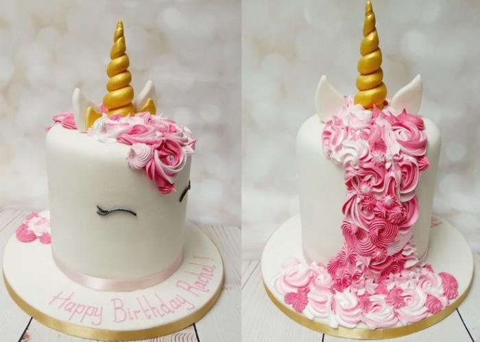 idée décoration gâteau licorne