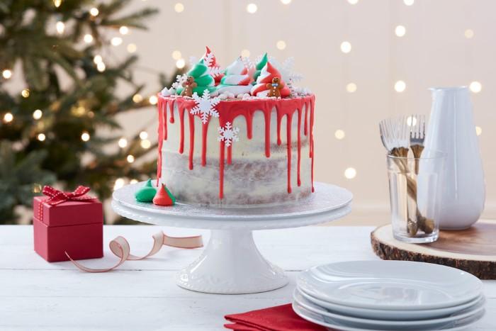 idée décoration gâteau pour noël