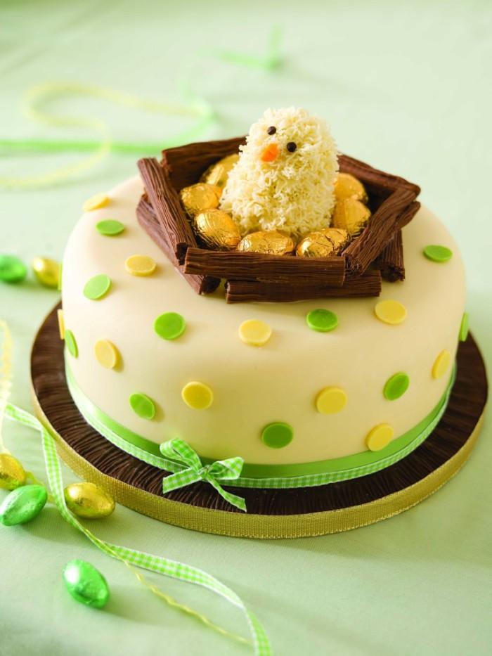 idée décoration gâteau pour pâques