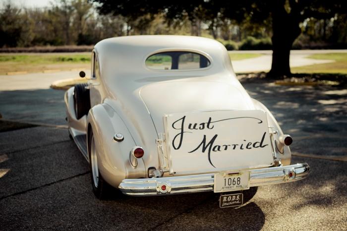 idée de décoration voiture mariage facile à faire
