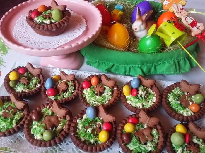 idée gâteaux pâques déco de pâques