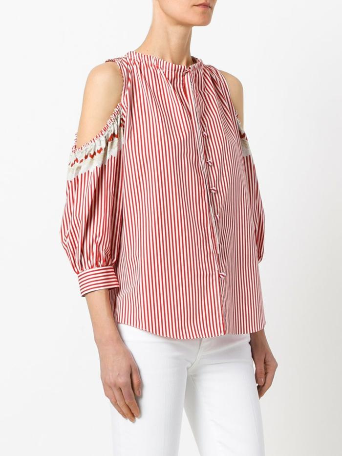 jolie chemise femme rayures pour printemps