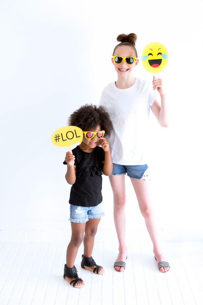 joyeux anniversaire thème emoji
