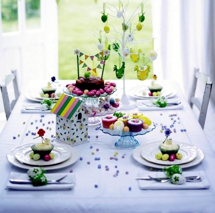 superbe idée déco de pâques table festive