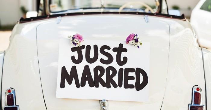 texte félicitation mariage voiture de mariage