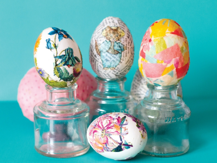 Crafts Whichcraft Decoupaged Eggs