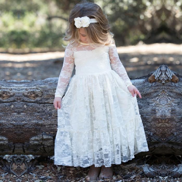 Robe demoiselle d 39 honneur id es comment habiller les petites filles du mariage - Robe de demoiselle d honneur pour un mariage ...