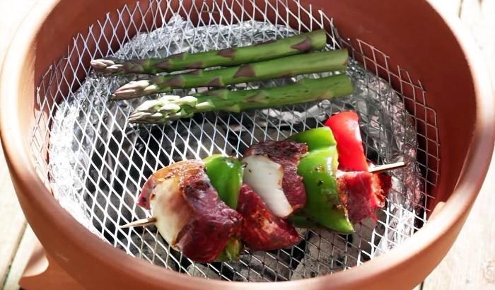 brasero barbecue diy pot en céramique
