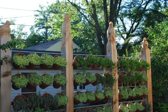 brise-vue jardin mur végétal