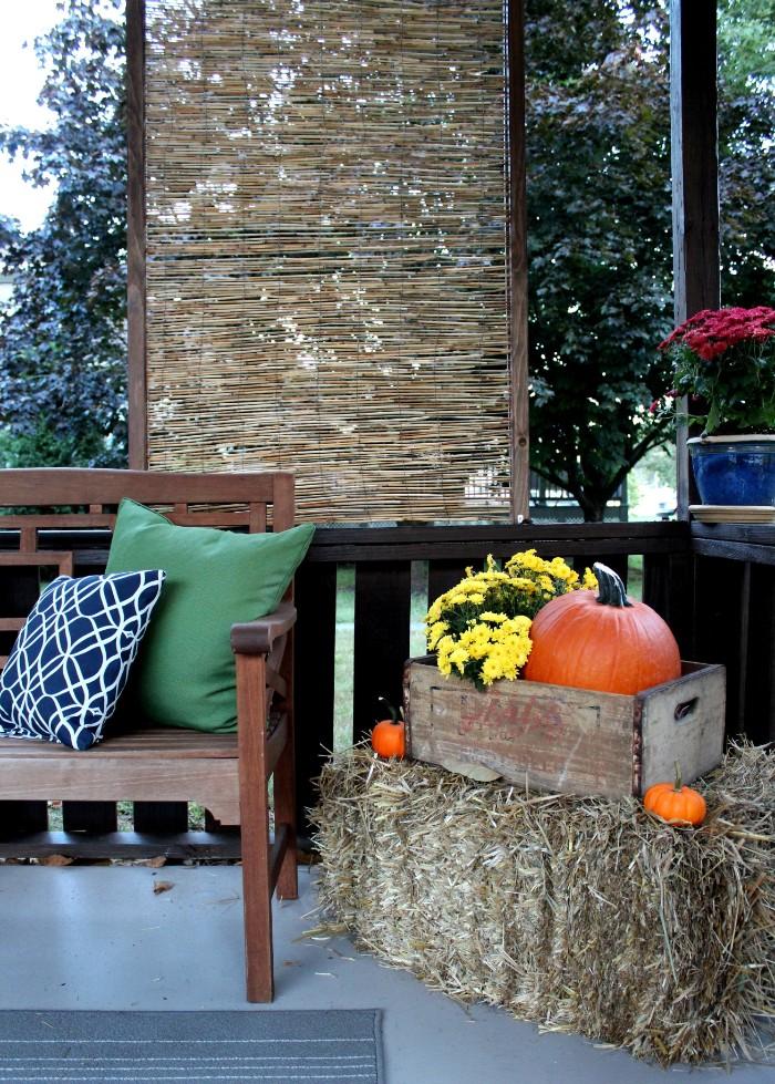 brise-vue terrasse matériaux naturels