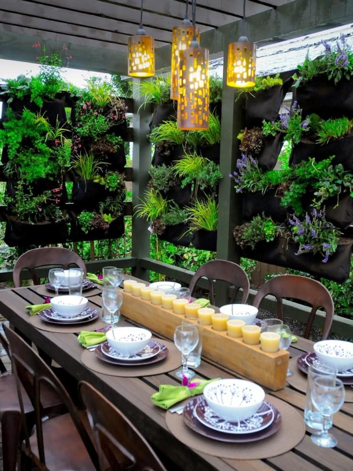 brise-vue terrasse mur végétal