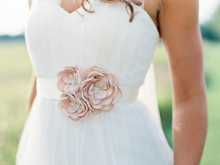 ceinture mariée mariage champêtre