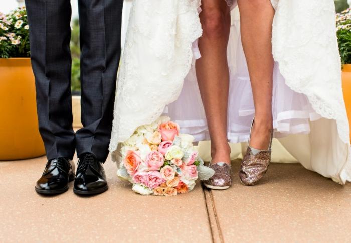 chaussures mariage femme idée