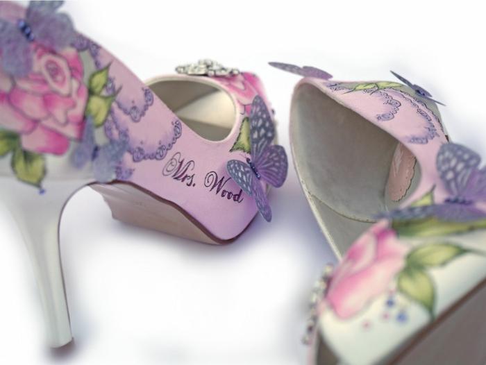 chaussures mariage femme uniques