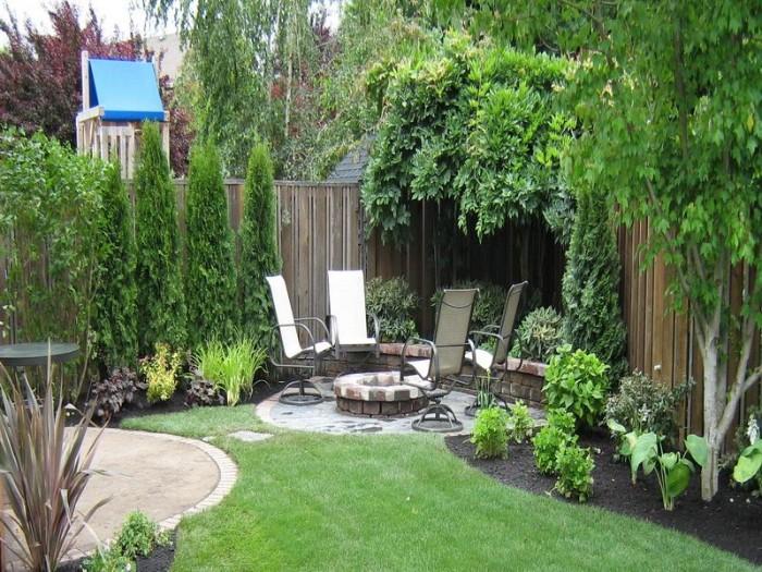 clôture jardin brise-vue en bois