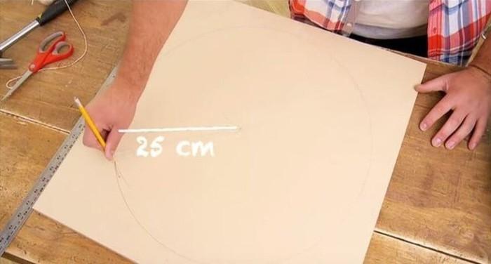 comment créer un pouf avec pneu recyclé