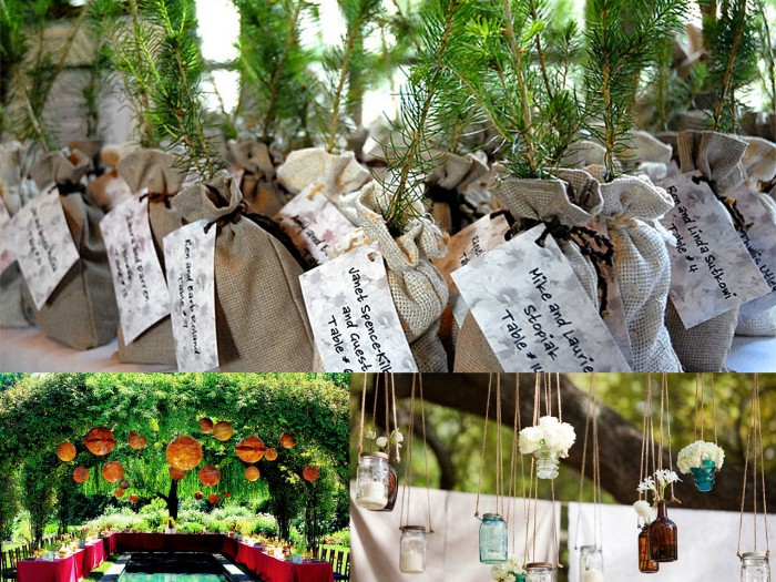 comment décorer un mariage champêtre