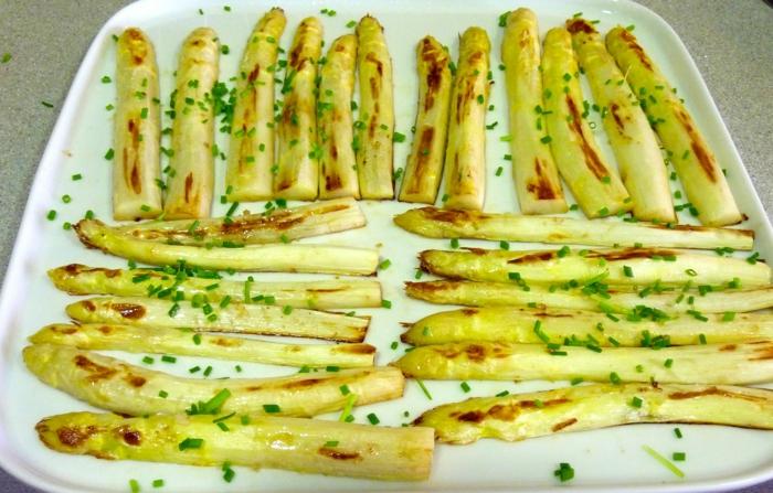 cuisson asperges blanches idée de recette facile