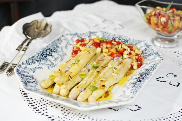cuisson asperges blanches propositions de recette