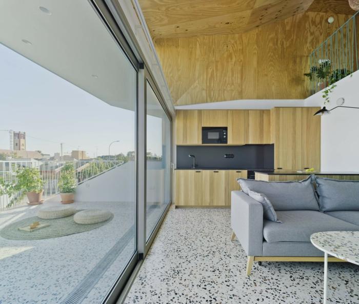 décoration intérieur aux motifs terrazzo pour une ambiance moderne
