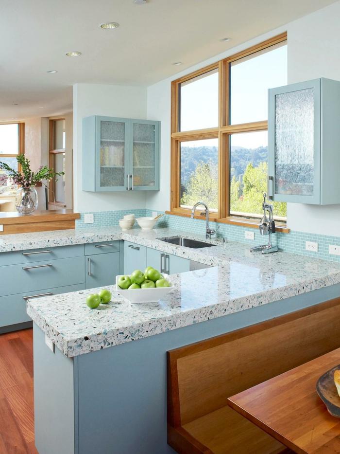 décoration intérieur terrazzo dans la cuisine