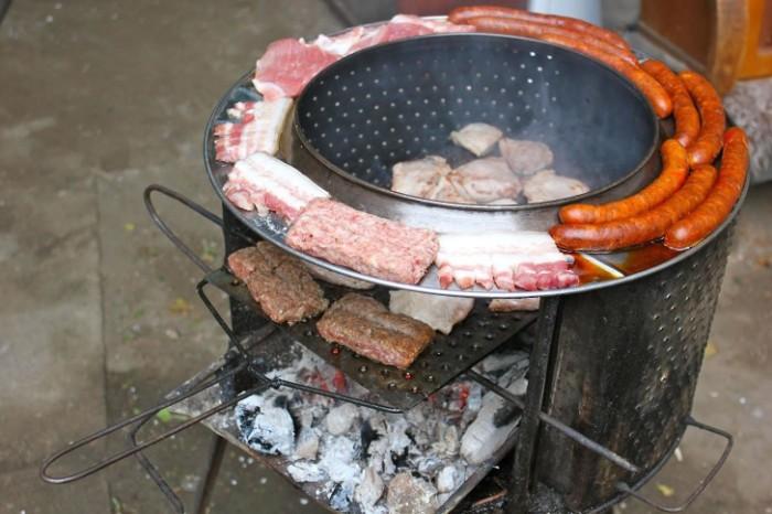 diy brasero barbecue en métal