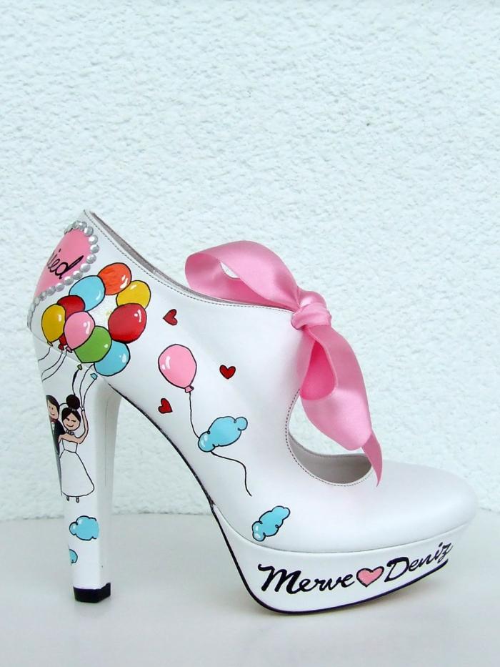 diy les chaussures mariage femme