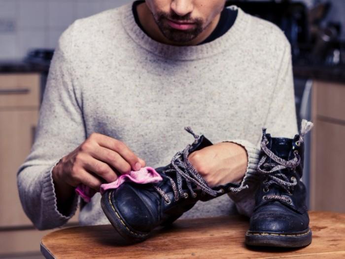faire chaussures imperméables dégrippant wd40