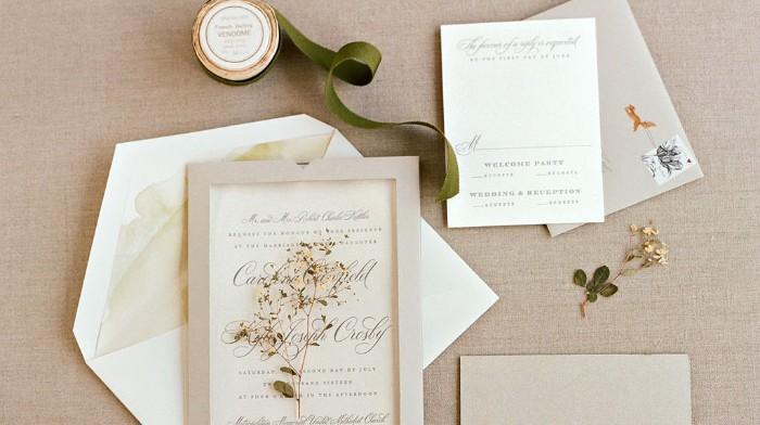 faire-part mariage champêtre eco-friendly