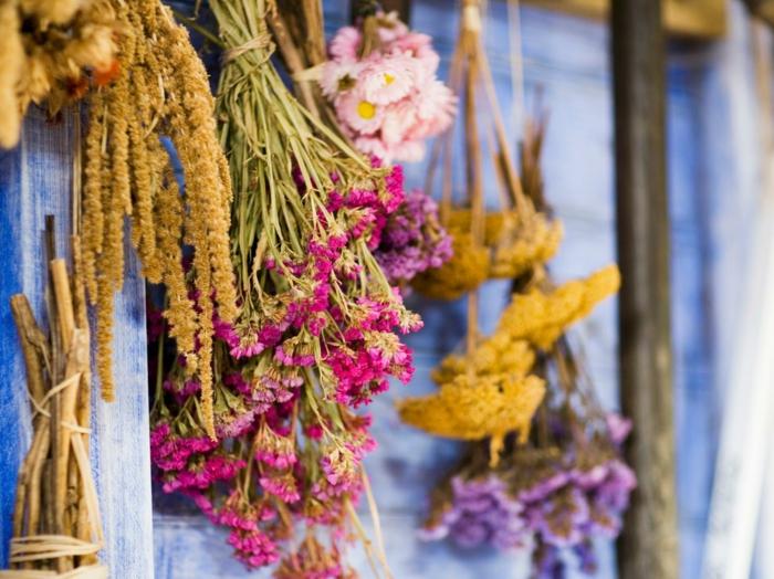 Fleurs Sechees Inspirations Deco Pour Un Interieur Tendance