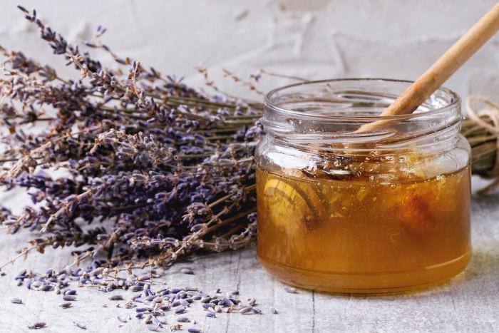 gommage visage maison lavande miel