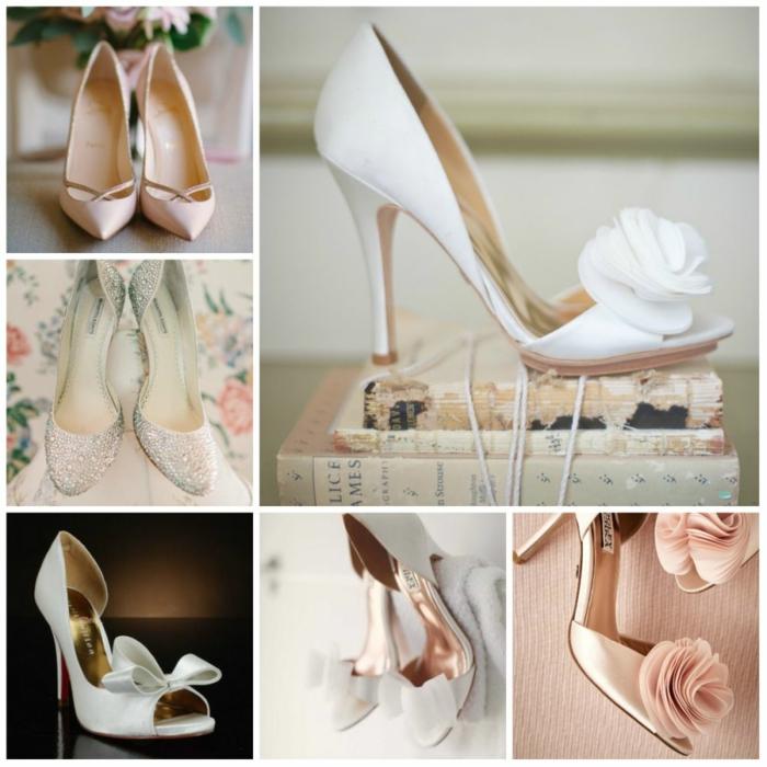 idée chaussures mariage femme