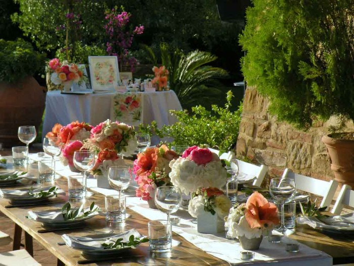 idée déco fleurs mariage champêtre