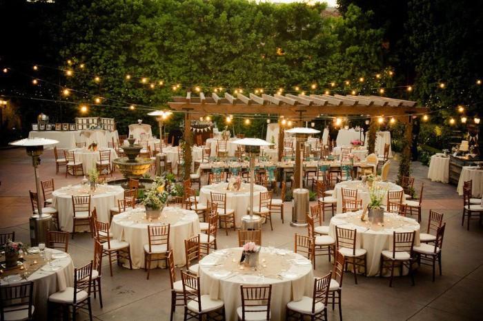 idée de décoration pour lieu de mariage champêtre