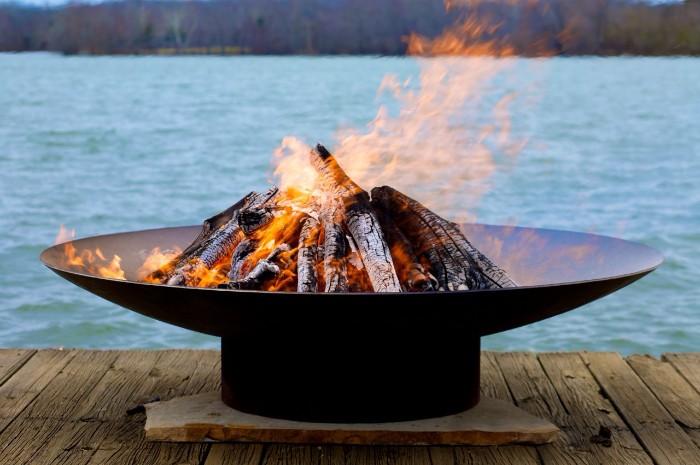 idée de modèle brasero barbecue