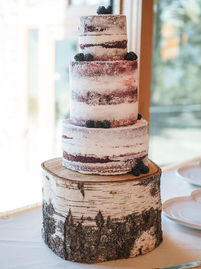 idée de tarte mariage champêtre
