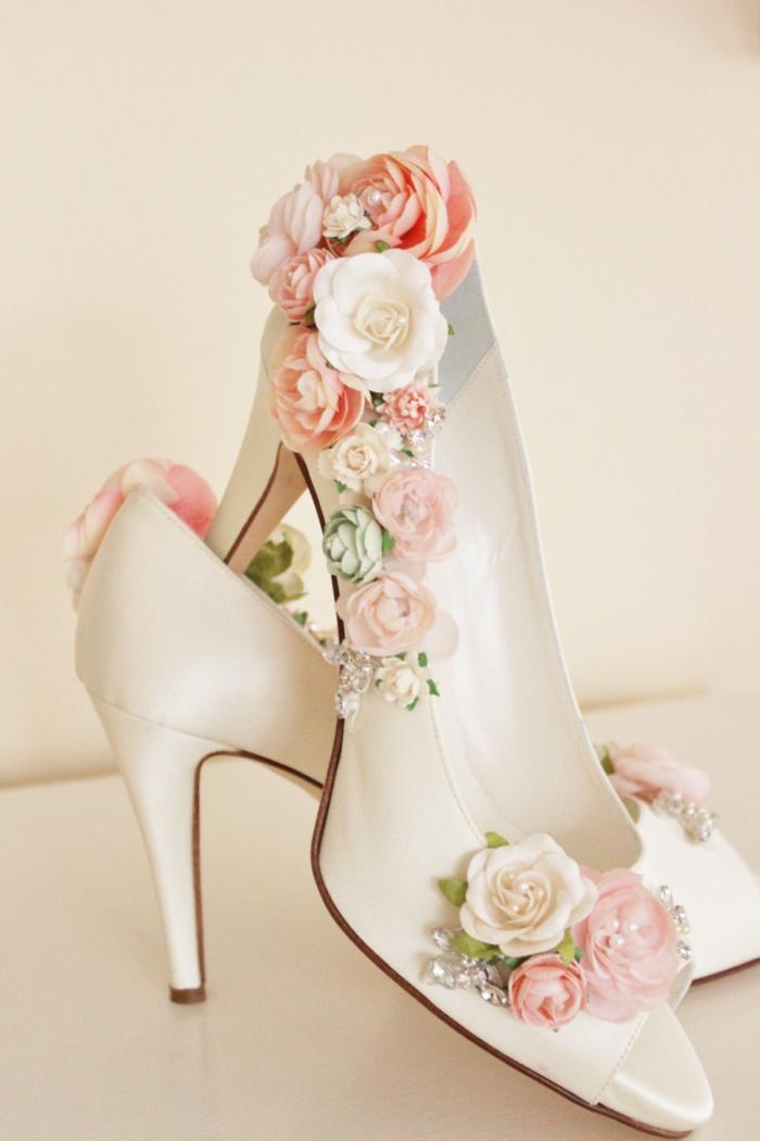 idée inspirante chaussures mariage femme