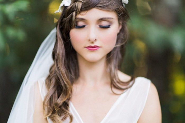 idée maquillage mariée mariage champêtre
