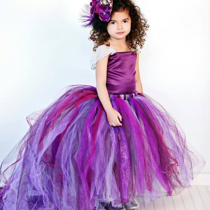 idée robe demoiselle d' honneur violette