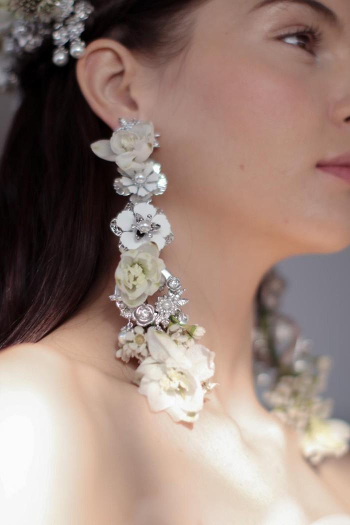 mariage champêtre accessoire mariée