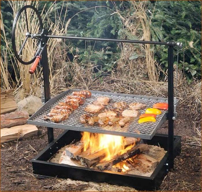 modèle diy de brasero barbecue