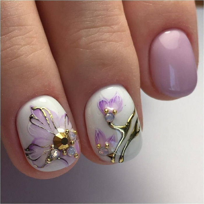 nail art facile oeuvre d'art
