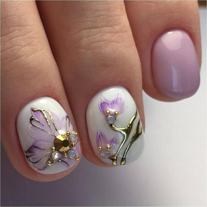 nail art facile oeuvre d'art