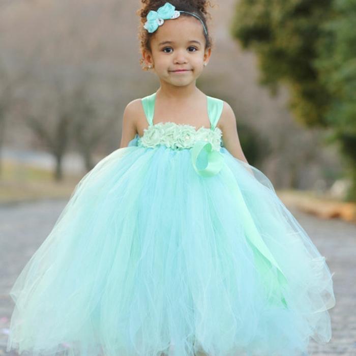 robe demoiselle d' honneur en turquoise