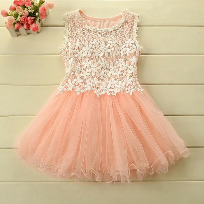 robe demoiselle d'honneur rose poudré
