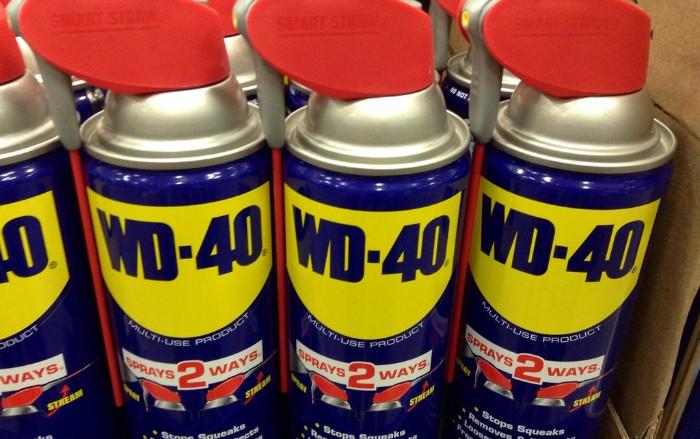 spray dégrippant wd40