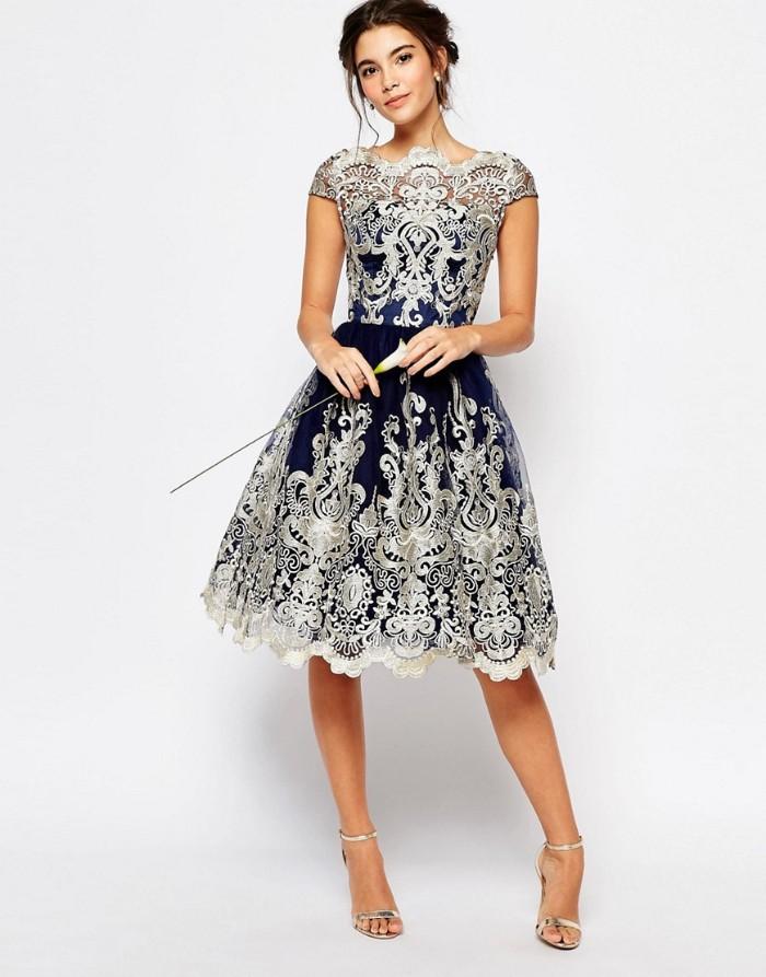 tenue invitée mariage robe élégante