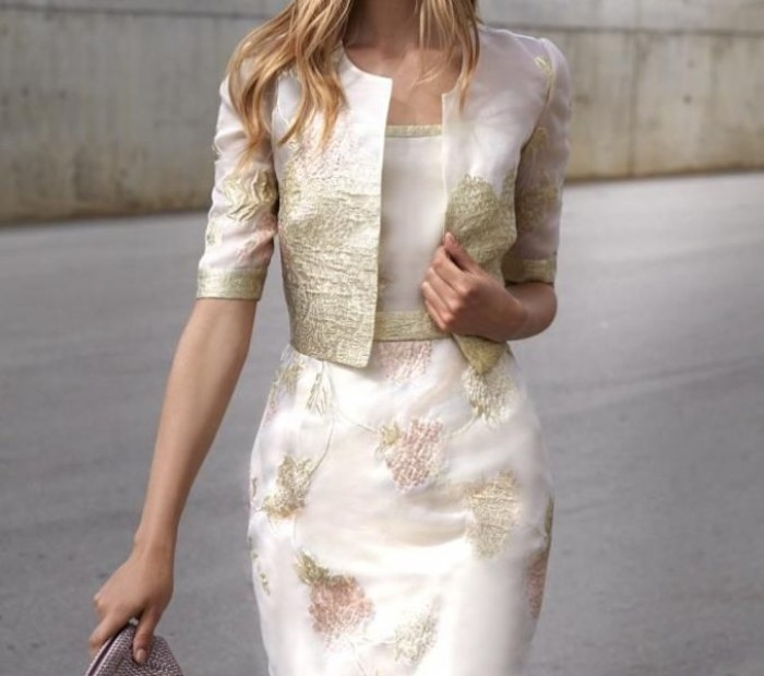 tenue invitée mariage robe stylée