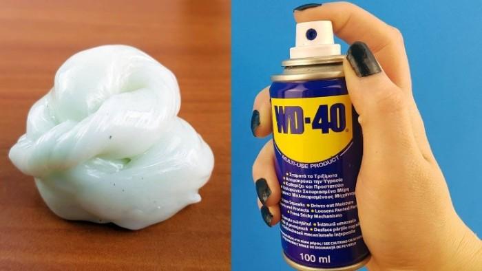 utilisation spray dégrippant wd40