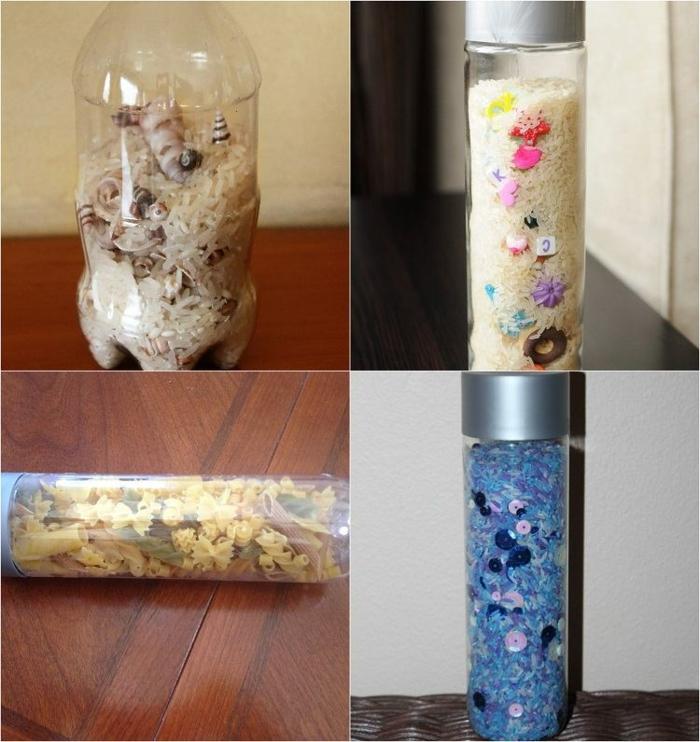 bouteille sensorielle produits de cuisine